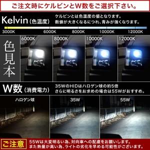 MC系 ワゴンR 後期4灯ハロゲン車  極HIDキット 瞬間起動 H3 フルキット ロービーム用 製品保証付 35W 55W 薄型バラスト