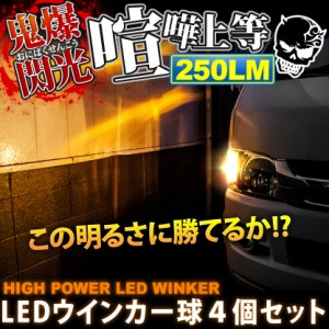 鬼爆閃光 ボンゴトラック SK系 [H17.11] LEDウインカー球 4個セット F