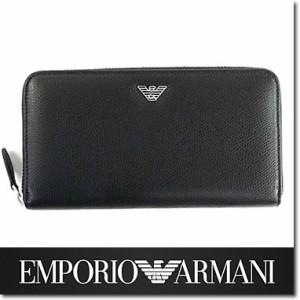 5094dd3581d0 エンポリオ アルマーニ 財布 EMPORIO ARMANI メンズ ラウンドファスナー 長財布 ブラック YEME49 YAQ2E 81072☆送料