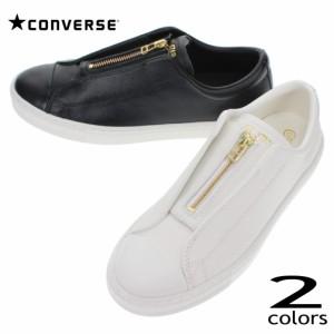 コンバース CONVERSE スニーカー オールスター クップ センタージップ オックス ALL STAR COUPE CENTER-ZIP OX ホワイト ブラック