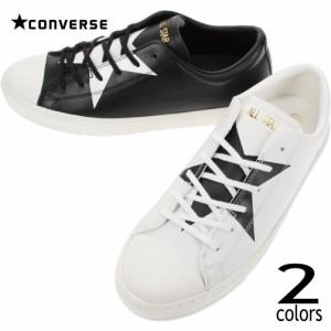 コンバース CONVERSE スニーカー オールスター クップ BS スリップ オックス ALL STAR COUPE BS SLIP OX ホワイト/ブラック ブラック/ホ