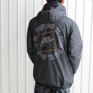 ナイキ NIKE ウェア NSW JDI ウーブン フーディ ジャケット ブラック/ブラック DA0175 010