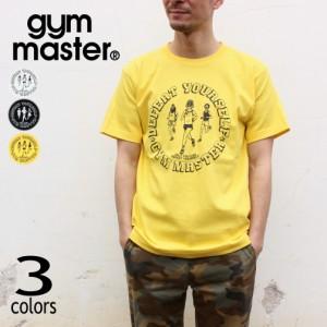 ジムマスター gym master Tシャツ ディフィート ユアセルフ DEFEAT YOURSELF G692690 ホワイト(01) ブラック(05) イエロー(10)
