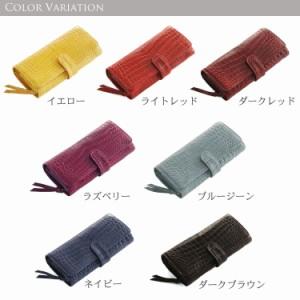 3d245e1665ce クロコダイル長財布マット加工かぶせベロ付き財布かわいいおしゃれかっこいい人気本革本物. イメージ