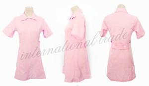 【即納】【送料無料】コスプレ服 オリジナルコスチューム 可愛いピンクのナース服