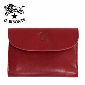 45f7a8c34736 イルビゾンテ 長財布 IL BISONTE C0972 P 245 Ruby red レッド 革 メンズ レディース 人気 ブランド