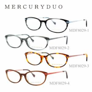 マーキュリーデュオ 眼鏡 メガネ MERCURYDUO MDF8029-1 MDF8029-2 MDF8029-3 MDF8029-4 人気 眼鏡 めがね ファッション アイウェア