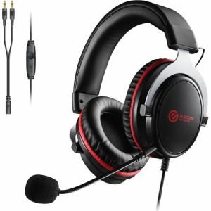エレコム ゲーミング ヘッドセット PS4 Switch マイク付 有線 ブラック HS-G40BK(1セット)[ヘッドセット]