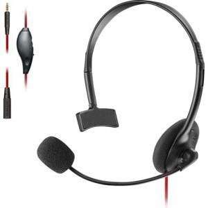 エレコム ゲーミング ヘッドセット PS4 Switch 片耳 マイク 有線 ブラック HS-GM10BK(1セット)[ヘッドセット]