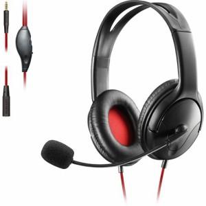 エレコム ゲーミング ヘッドセット PS4 Switch マイク付 有線 ブラック HS-GM20BK(1セット)[ヘッドセット]