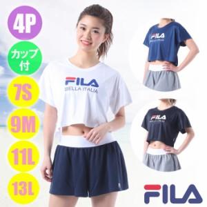 b13fbd90f98 あす着(パケット便送料無料)FILA(フィラ)ロゴTシャツ4