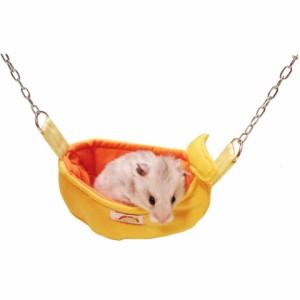 レインボー プチ バナナブランコ/寝床 遊び場 吊り下げ 布製 ハムスター モモンガ Rainbow レインボーの画像