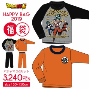 e58f80611364f  2019年福袋  ドラゴンボール パジャマ 福袋 キッズ ジュニア 男の子 2点セット 2019 福袋
