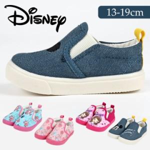 de1e6355749f7 ディズニー キャラクター スリッポン 上履 キッズ 子供靴 スニーカー 女の子 子供靴 13cm 14cm 15cm