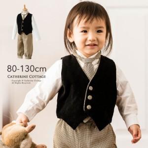 キッズ スーツ 子供服 ニッカボッカ リトルシャーロック 男児スーツ 4点セット キャサリンコテージ TAK PC003