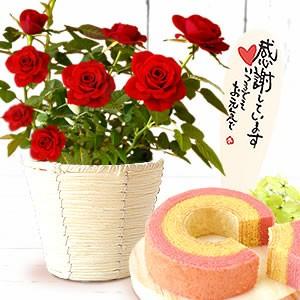 薔薇【赤】&苺バウム