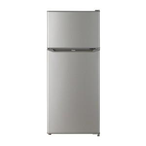 冷蔵庫 2ドア 一人暮らし 小型 小型 新生活 2ドア おすすめ 130l ハイアール JR-N130A-S シルバー 冷蔵室自動霜取り