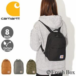 Carhartt カーハート バッグ ブランド ミニリュック レディース バックパック 8inch 撥水加工 [carhartt-221301] (USAモデル)
