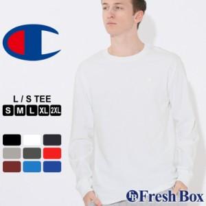 秋新作 チャンピオン Tシャツ 長袖 メンズ 大きいサイズ USAモデル|ブランド ロンT 長袖Tシャツ ロゴ アメカジ|Champion