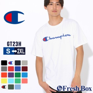チャンピオン Tシャツ 半袖 クルーネック メンズ レディース 大きいサイズ GT23H Y06794 Y07718 ブランド アメカジ USAモデル 春新作