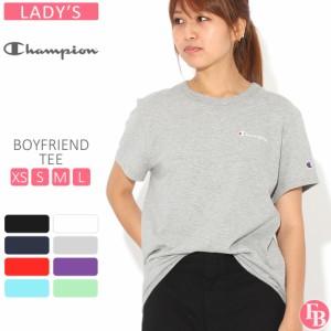 [レディース] チャンピオン Tシャツ 半袖 クルーネック 綿100% ゆったり 大きいサイズ GT949 Y08160 ブランド アメカジ USAモデル 春新作