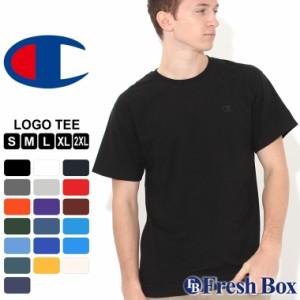 秋新作  チャンピオン Tシャツ 半袖 クルーネック メンズ レディース 大きいサイズ T0223|ブランド アメカジ USAモデル