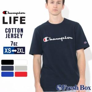 チャンピオン Tシャツ 半袖 メンズ 大きいサイズ USAモデル|ブランド 半袖Tシャツ ロゴ アメカジ|Champion