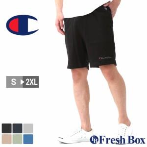 Champion チャンピオン ハーフパンツ メンズ スポーツ ルームウェア ショートパンツ 膝上 大きいサイズ 夏服 [85867-586321] (USAモデル)