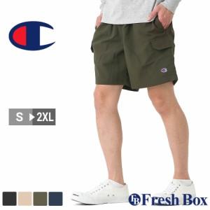 Champion チャンピオン ハーフパンツ メンズ スポーツ ルームウェア ショートパンツ 膝上 大きいサイズ 夏服 [85872] (USAモデル)