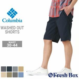 Columbia コロンビア ハーフパンツ メンズ 大きいサイズ ショートパンツ 膝上 アウトドア キャンプ 10inch (USAモデル)