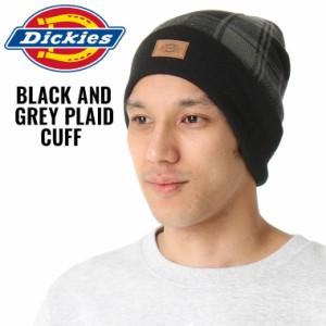 [割引クーポン配布] ディッキーズ ニット帽 チェック柄 メンズ レディース KC2KEM|USAモデル Dickies|ニットキャップ 帽子 big_ac