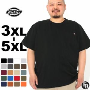 [ビッグサイズ] ディッキーズ Tシャツ 半袖 クルーネック ヘビーウェイト ポケット メンズ 大きいサイズ WS450 USAモデル ブランド Dicki