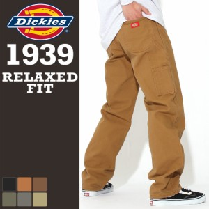 Dickies ディッキーズ 1939 ペインターパンツ メンズ ダック生地 リラックスフィット ワークパンツ 大きいサイズ 作業着 作業服 作業ズボ