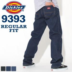 Dickies ディッキーズ 9393 ジーンズ メンズ ストレート デニムパンツ レギュラーフィット 大きいサイズ 作業着 作業服 (USAモデル) [COP