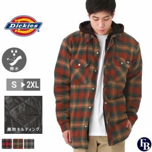 ディッキーズ ジャケット アウター メンズ フード付き 裏地付き チェック TJ211 S-2XL Dickies / 3L 大きさサイズ ブランド 定番アイテム