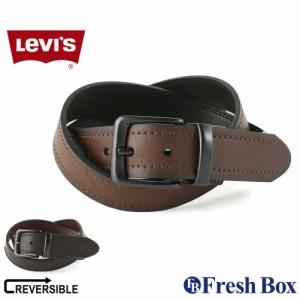 Levi's リーバイス ベルト メンズ 本革 ブランド カジュアル リバーシブル 大きいサイズ 130cm 110cm 100cm [levis-11lv120z12] (USAモデ