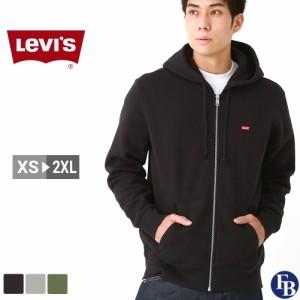 リーバイス パーカー ジップアップ メンズ フリース裏地 XS-2XL 34259 LEVIS / Levis アメカジ 大きいサイズ ブランド あったか_b