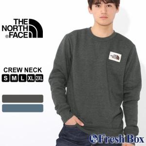 ノースフェイス トレーナー スウェット TNF ロゴ 長袖 裏起毛 薄手 メンズ NF0A3X8O USAモデル|ブランド THE NORTH FACE|スエット アメ