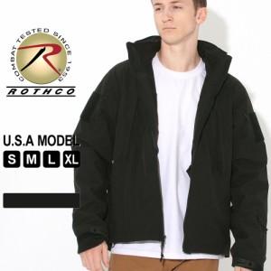 ロスコ ジャケット フード付き ソフトシェル フリースライナー メンズ 大きいサイズ 3943 USAモデル 米軍 ブランド ROTHCO