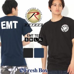 ロスコ Tシャツ 半袖 クルーネック EMT メンズ 大きいサイズ USAモデル ブランド ROTHCO 半袖Tシャツ アメカジ ミリタリー 春新作