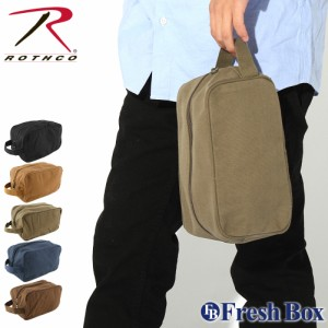 ROTHCO ロスコ バッグ メンズ ポーチ トラベルポーチ [rothco-8126] (USAモデル)