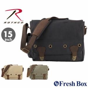 ロスコ バッグ ショルダーバッグ 斜めがけバッグ メンズ レディース ROTHCO / A4 PC キャンバス ブランド
