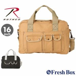ロスコ バッグ ショルダーバッグ 2WAY 斜めがけバッグ メンズ レディース ROTHCO / A4 通学 キャンバス ブランド