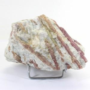 ピンクトルマリン結晶 原石 Brazil 置物 鉱物標本 〔RYD22-6〕
