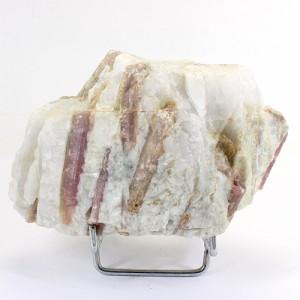 ピンクトルマリン結晶 原石 Brazil 置物 鉱物標本 〔RYD22-7〕