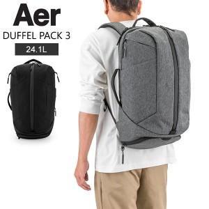 [あす着] エアー AER リュックサック 21.4L ダッフルパック 3 バックパック 鞄 メンズ レディースジム バッグ