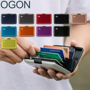 [あす着]OGON オゴン フランス製 カードホルダー カードケース アルミ STOCKHOLM Classic スキミング防止 蛇腹式 財布 キャッシュレス