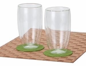 【bodum】ボダム パヴィーナ ダブルウォールグラス 2個セット 0.45L 4560-10US クリア