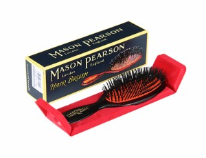 Mason Pearson メイソンピアソン ポケットブリッスル B4 猪毛ブラシ ヘアブラシ 健康