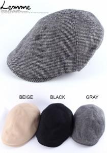 【新作 アクセサリー】★カジュアルコーデには欠かせない♪シンプル毛織キャップ帽★■acc957